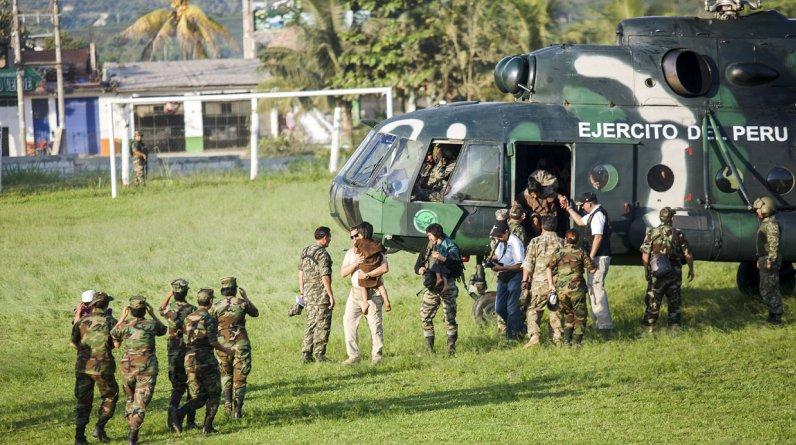 La operación de liberación se inició el pasado 18 de julio, pero la labor de inteligencia se planeó desde el año pasado.(El Comercio / Christian Ugarte)