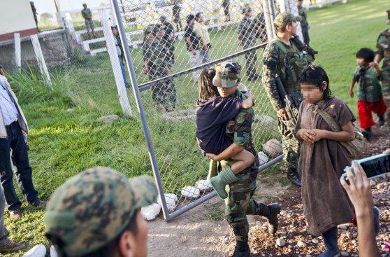 Así fue el rescate de 26 niños y 13 adultos esclavos de Sendero