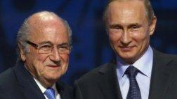 Vladimir Putin pide el Premio Nobel para Joseph Blatter