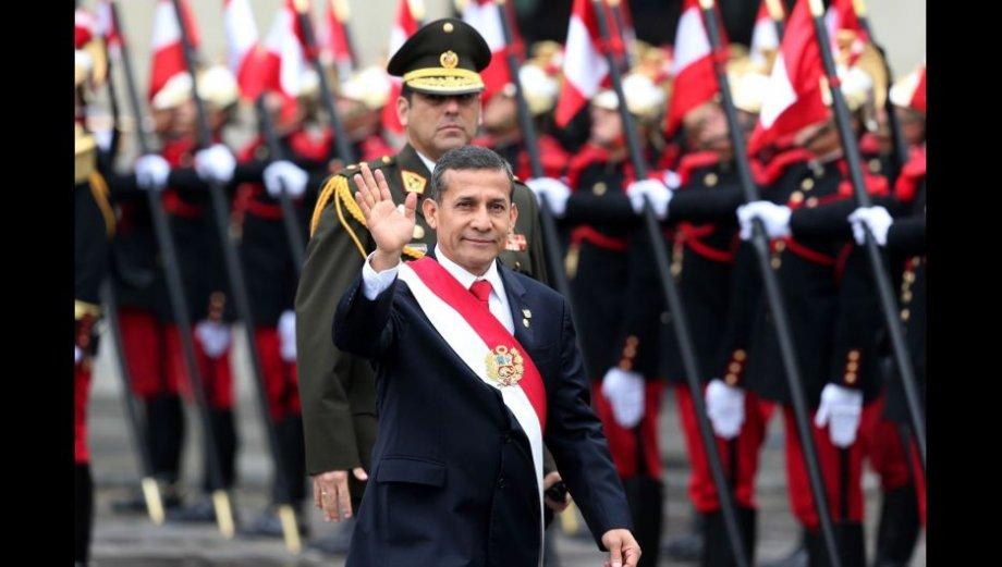 Ollanta Humala y las primeras postales de las Fiestas Patrias