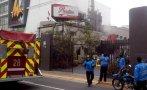 Miraflores: conato de incendio en pollería de Av. Benavides