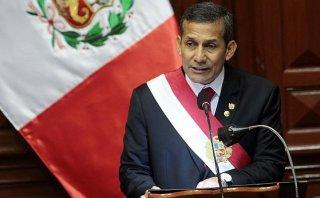 """Humala: """"Narcotráfico ya no es un poder paralelo en el Vraem"""""""