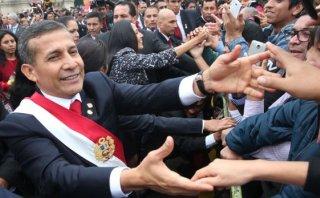 """Humala: """"Cuando termine este período, el Perú habrá cambiado"""""""