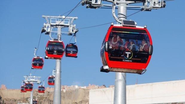 Se construirán dos teleféricos en El Agustino y Lima Norte