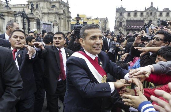 Ollanta Humala y las mejores fotos del mensaje a la nación