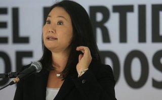Keiko Fujimori: Humala nos ha relatado pequeños logros aislados