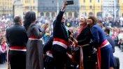 Ministros se tomaron fotografías mientras Humala daba discurso