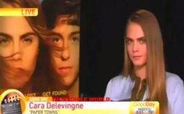 Esta es la entrevista más extraña a Cara Delevingne [VIDEO]