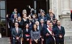 Ministros se tomaron fotos mientras Humala daba discurso