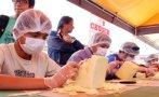 Tallado en queso fue atracción durante feria en Cajamarca