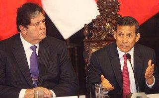 """García: mensaje de Humala """"fue una hora de palabras al viento"""""""