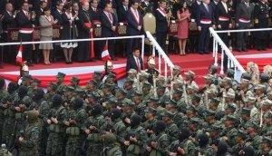 Así se vivió el desfile por la Gran Parada Militar