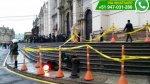 WhatsApp: semáforo cayó en la Plaza de Armas antes del Te Deum - Noticias de policía de tránsito