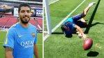 Luis Suárez se luce en prácticas del Barcelona ¿como arquero? - Noticias de luis suarez