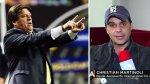 Miguel Herrera tambalea por pegarle a Christian Martinoli - Noticias de comentarista