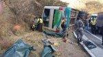 Cusco: 11 personas mueren tras caída de camión a una laguna - Noticias de oscar espinar