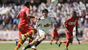 La 'U' empató 0-0 con Sport Huancayo y sigue colero