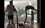 Lionel Messi: así entrena junto a su hijo Thiago (VIDEO)