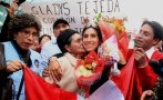 Tejeda regresó al Perú y tuvo gran recibimiento