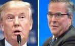 Trump se dispara en las encuestas y Bush sigue en caída libre