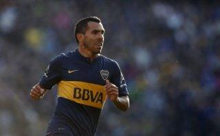 Carlos Tevez marcó su primer gol con Boca tras su regreso