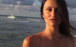 Desembarque de inmigrantes ilegales en plena grabación [VIDEO]