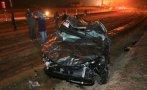 La Libertad: tres fallecidos en un choque de camioneta y camión