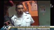 Parada Militar: falso marino detenido cerca de tribuna oficial