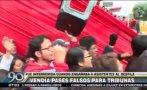 Detienen a mujer por vender invitaciones para Parada Militar