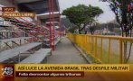 Av. Brasil: tramo de vía auxiliar sigue cerrado al tránsito