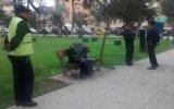 Lince: hallan muerto a trabajador de Digesa en banca de parque