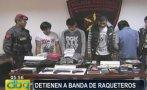 VMT: caen cinco delincuentes que asaltaban con armas falsas