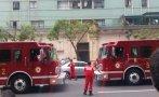Cercado: evacuan edificio por amago de incendio en jirón Camaná