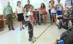 Un exoesqueleto biónico para volver a caminar [VIDEO]