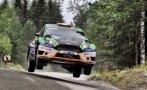 Fuchs empezó el Rally de Finlandia con problemas con la lluvia