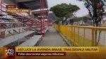 Av. Brasil: tramo de vía auxiliar sigue cerrado al tránsito - Noticias de amanecer