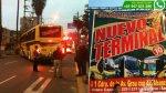 La Victoria: empresa de transportes operaba sin licencia - Noticias de multa