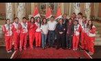 Premiaron a medallistas peruanos de Toronto 2015 en Palacio