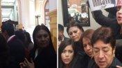 Otra acosadora de viuda de Bustíos estuvo en portátil humalista