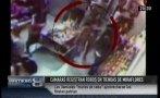 Larcomar: así actúan las 'robacelulares' de Miraflores [VIDEO]