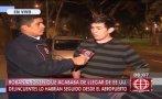 San Isidro: roban US$ 4 mil a joven peruano que regresó de EEUU