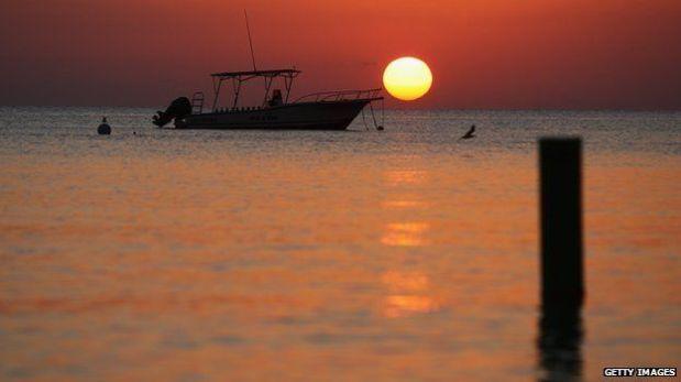 Las Islas Caimán, una postal de los paraísos fiscales. (Foto: BBC Mundo)