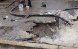 Ruptura de red matriz deja sin agua a tres pueblos de Chimbote