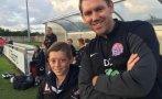 Niño de 11 años dirigió partido de un equipo inglés