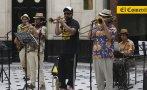"""En vivo desde """"El Comercio"""" con Hugo Lobo y Vieja Skina (VIDEO)"""