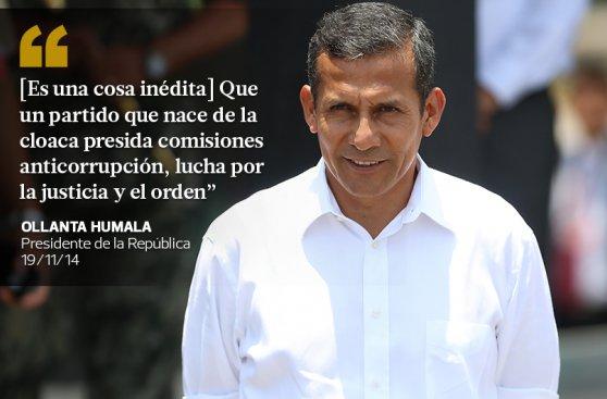 Las 20 frases que dejó cuarto año de Ollanta Humala en el poder