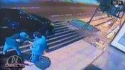 Robo a joven que vino de EE.UU. duró menos de un minuto [VIDEO]