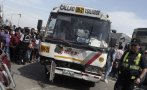 Chofer de Orión resultó herido tras chocar en Av. Javier Prado