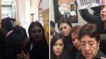 Otra acosadora de viuda de Bustíos estuvo en portátil humalista - Noticias de afiches
