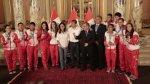 Medallistas de Toronto 2015 condecorados en Palacio (FOTOS) - Noticias de natalia cuglievan
